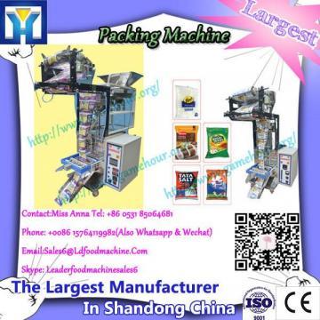High speed form fill seal zipper bags machine