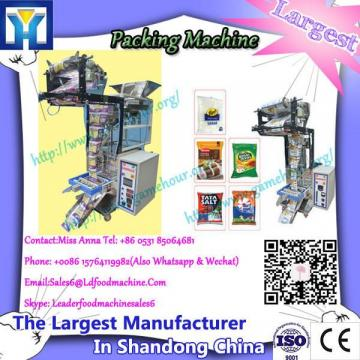 Quality assurance pouch packaging machine for cotton candy