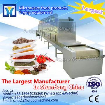 Industrial continous conveyor belt type microwave agaric dryer