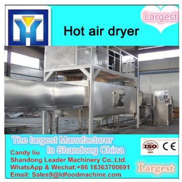 Hot air potato chips dryer