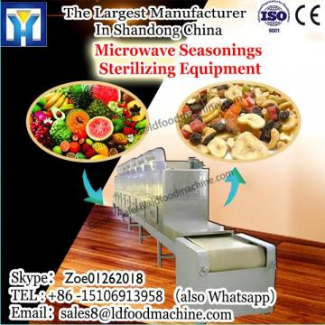 China supplier continuous microwave drier/sterilization for pea