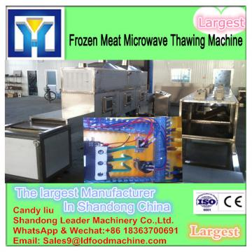China supplier tunnel type microwave thawing machine for mutton