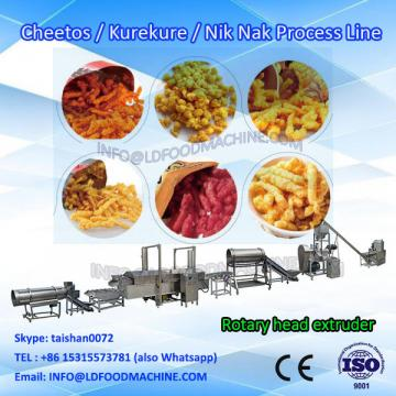 niknaks snacks food extrusion machinery production line