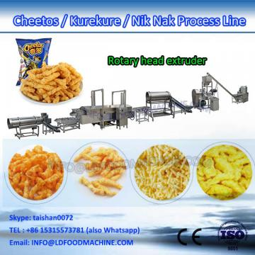 corn grits nik naks extruder make machinery production line