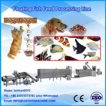 Floating fish feed processing machinery for rainbow trout, tilapia