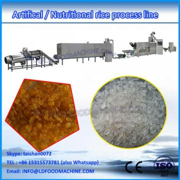 2017 hot sale double screw extruder fast parboiled rice maker