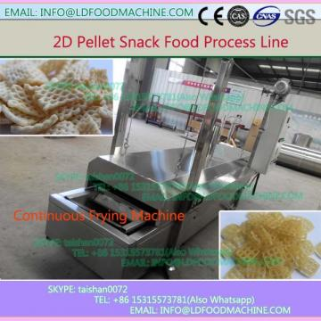 Automatic Fried Flour Bugle/Chips Snacks 2d Pellets Food machinery
