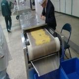 60KW microwave soybeans deodorization equipment