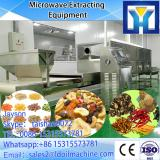 best seller microwave Tobacco leaves drying / dehydration equipment
