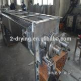 High quality sludge drying equipment polyester sludge Hollow paddle dryer