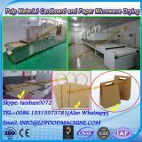 Microwave foams dryer and sterilizer machine