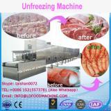 High quality frozen seafood unfreeze machinery/frozen food unfreezer