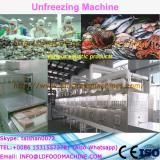 Best quality pork defrozen machinery/meat unfreezing machinery